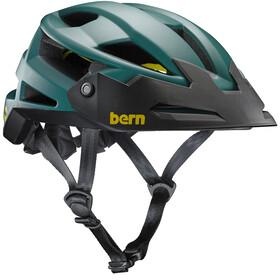 Bern FL-1 XC Type MIPS Helmet with Visor Matte Hunter Green